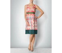 Kleid aus Seide mit Blumen-Print