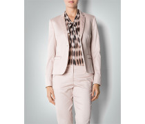 Blazer aus Cotton-Satin