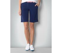 Hose Golfbermuda im Modern Fit mit Umschlag