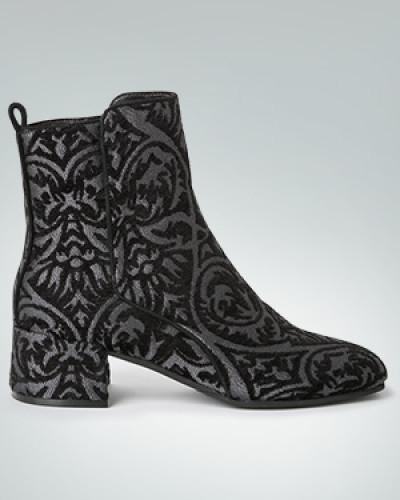 Steffen Schraut Damen Schuhe Stiefelette aus glänzendem Jacquard Günstig Kaufen Sammlungen Erstaunlicher Preis Günstig Online JRiLiYLHNW
