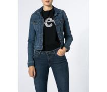 Jeansjacke in modern schmaler Paßform