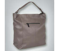Hobo Bag in genarbter Optik