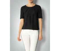Bluse aus Cotton Silk Jacquard
