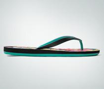 Schuhe Zehensandale mit floralem Print