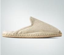 Schuhe Homeslipper mit offner Ferse