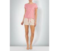 Nachtwäsche Pyjama im Streifen-Design