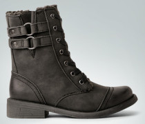 Schuhe Stiefelette mit Schnürung
