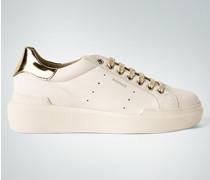 Schuhe Sneaker mit Gold-Details