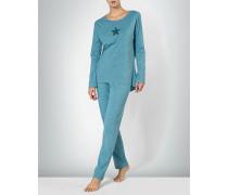 Nachtwäsche Pyjama im Streifenlook