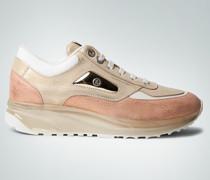Schuhe Sneaker mit transparenter Plateau-Sohle