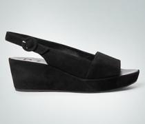 Schuhe Wedges aus Veloursleder
