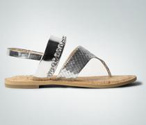 Schuhe Zehensandale mit Strasssteinchen