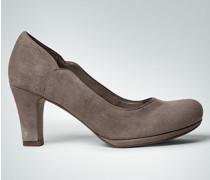 Schuhe Pumps aus Premium-Veloursleder