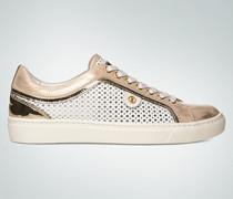 Schuhe Sneaker im Metallic-Look