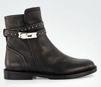 Schuhe Stiefelette mit Nieten-Riemen