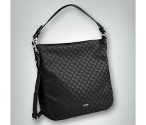 Hobo Bag mit Allover Logo Print