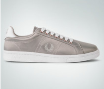 Schuhe Sneaker in Satin-Optik