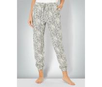 Pyjama-Hose im Animal Print