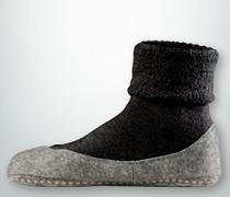 Socken Cosyshoes aus Merinowolle mit Antirutsch-Sohle