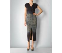 Jerseykleid im Batik-Look