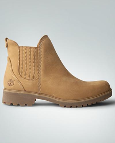 Schuhe Stiefeletten aus Nubukleder