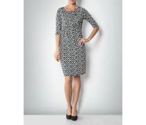 Kleid mit modernem Herz-Dessin