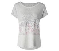T-Shirt mit überschnittener Schulter