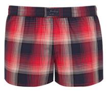 Nachtwäsche Shorts im karierten Look