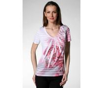 T-Shirt, Baumwolle, weiß