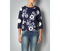 Pullover in modischer Sweat-Optik