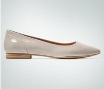 Schuhe Ballerinas aus softem Glanzleder