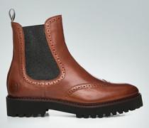 Schuhe Chelsea Boots mit Lyralochung