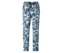 Nachtwäsche Pyjamapants mit floralem Print