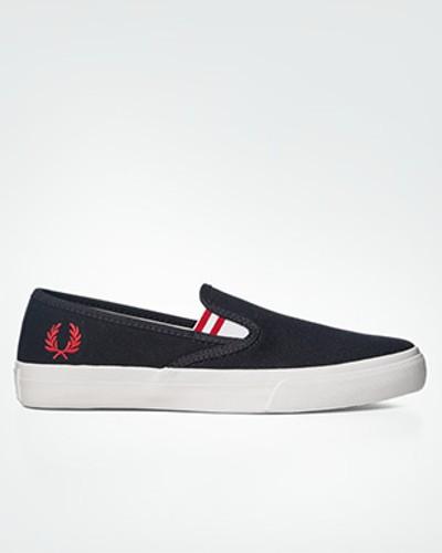Fred Perry Damen Schuhe Slip Ons im cleanen Design Super gP005sZfFu