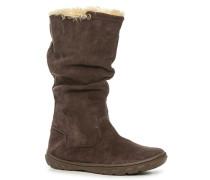 Schuhe Stiefel, Veloursleder, espresso