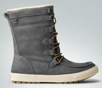 Schuhe Stiefelette mit Kunstfell