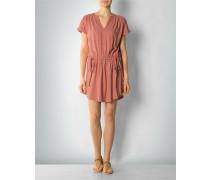 Kleid mit Taillen-Raffungen