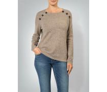 Pullover mit Effektknöpfen
