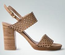 Schuhe Sandalen mit Logo-Cut-Outs
