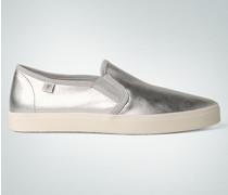 Schuhe Slip Ons im Metallic-Look