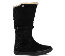 Schuhe Stiefel, Veloursleder