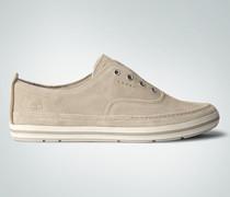 Schuhe Slip Ons aus Veloursleder