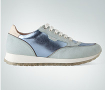 Schuhe Sneaker mit Metallic-Effekt