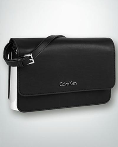 Calvin Klein Damen Schultertasche mit glänzenden Metall-Elementen Spielraum Gut Verkaufen Countdown Paket Günstiger Preis HUdD0il