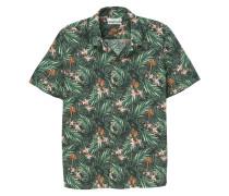 Gemustertes regular fit-hemd aus baumwolle