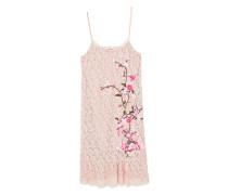 Kleid aus bestickter spitze