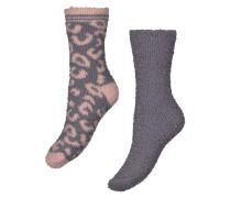 Socken, 2er-Pack, Cos Rosa