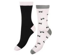 3 Paar Socken Badger Rosa