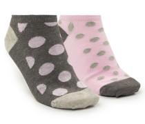 3 Paar Socken Trainerliners Cotton Grau