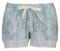 Shorts Lace Blauw